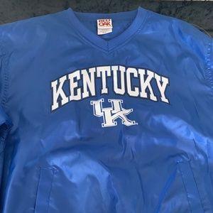 Kentucky Wildcats Windbreaker Sweatshirt Jacket